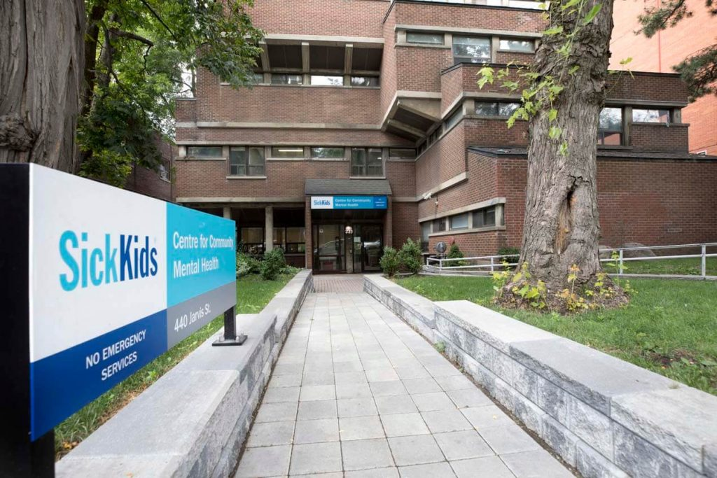 SickKids CCMH treatment site, 440 Jarvis Street, Toronto