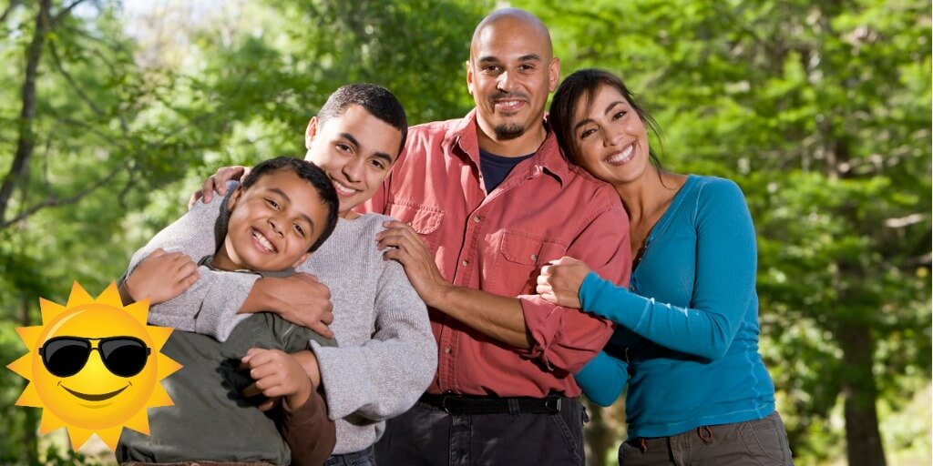 family learning working on emotion dysregulation