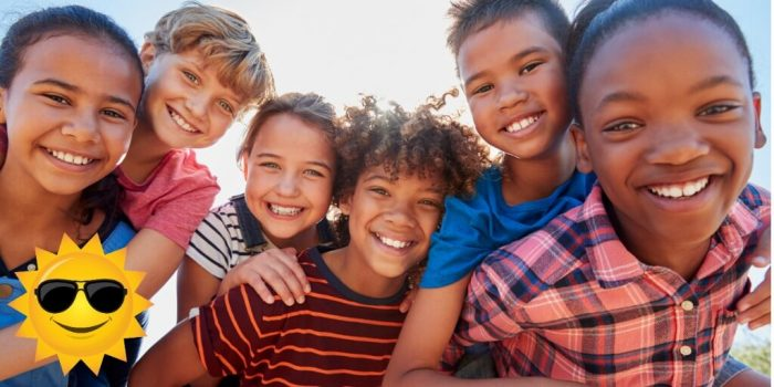 group of pre-teens anxiety in children and youth