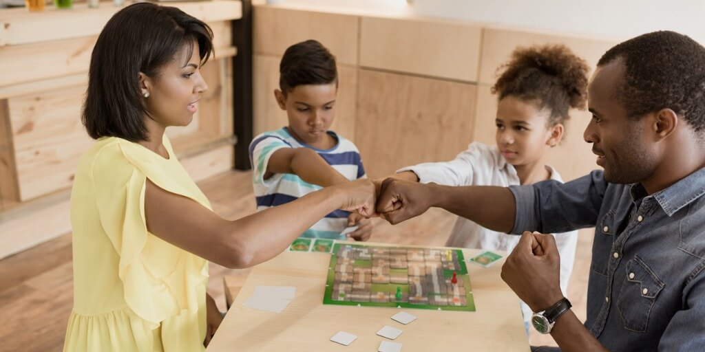 family playing assessing and treating children and families