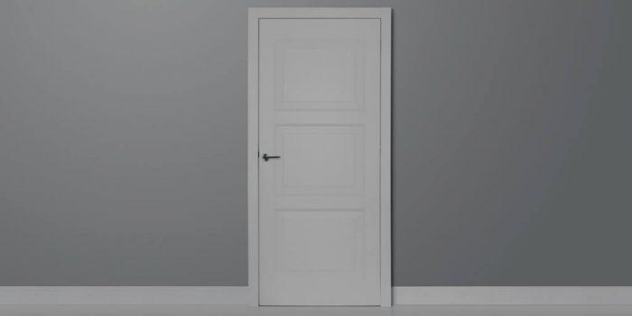 door in shadow when death darkens the door