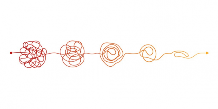 knots in a line get - when grief gets more complicated