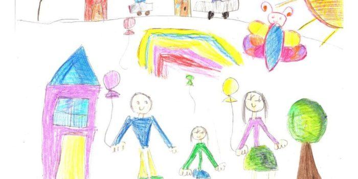child's drawing assessment model